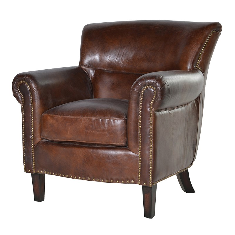 Armchair Trent Classic Leather L 910 x W 880 x H 8...