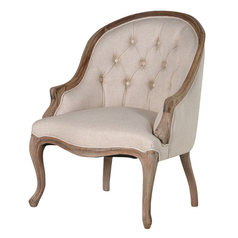 Armchair Avon Curved L 650 x W 690 x H 880 mm