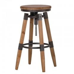 Scaun bar din lemn Woody