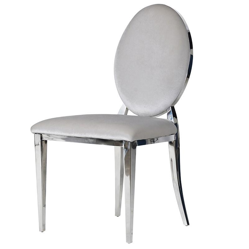 Chair Viena Silver crom L 52 x W 61 x H 92 cm
