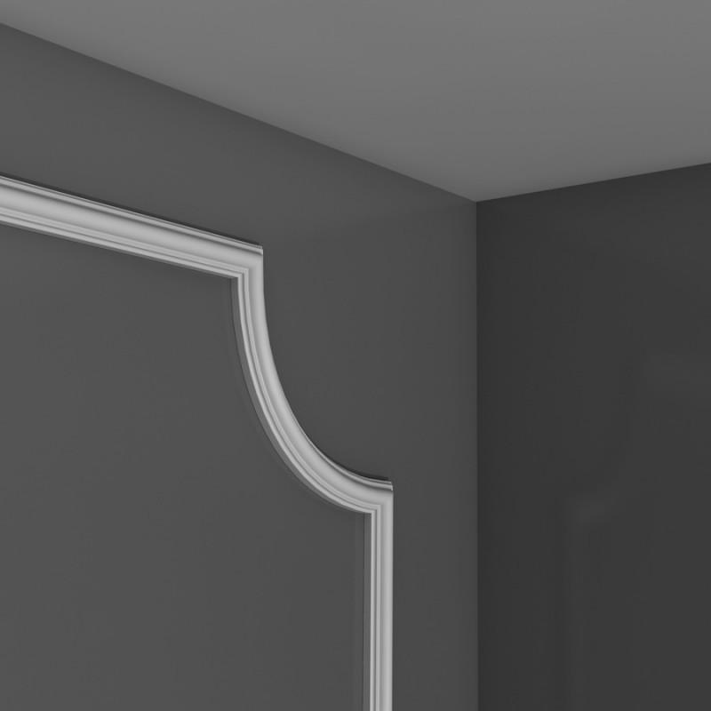Panel moulding corner PX103A H 3.5 x d 1.2 cm