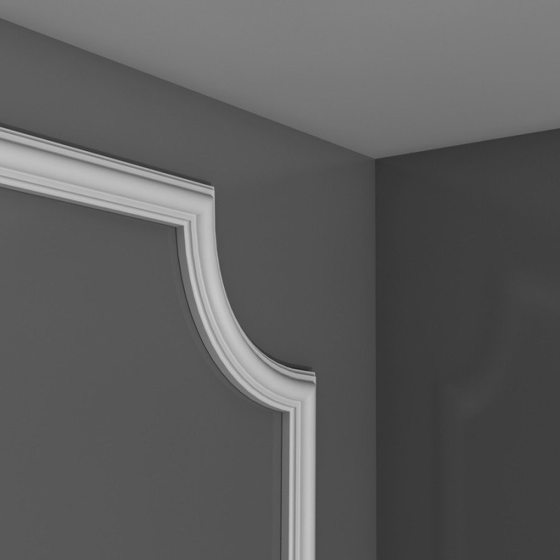 Panel moulding corner PX120A H 8.8 x d 2 cm