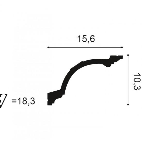 Cornisa C217 H 15.6 x l 10.3 cm