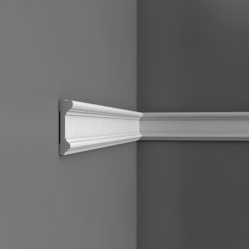 Panel moulding DX121-2300 H 9.4 x d 2.3 cm
