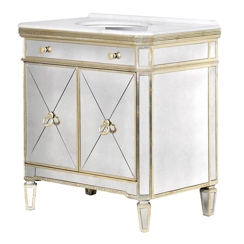Sink unit  Venetia Gold 85×55×H.93 cm