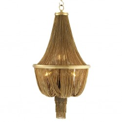 Candelabru auriu Martinez L ø54 cm
