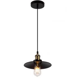 Suspensie moderna Damon 1 negru Ø23 cm