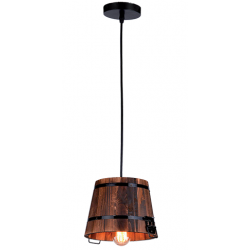 Suspensie din lemn Pail Ø21 cm