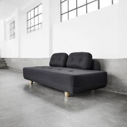 Canapea fixa STOMP Dark Grey