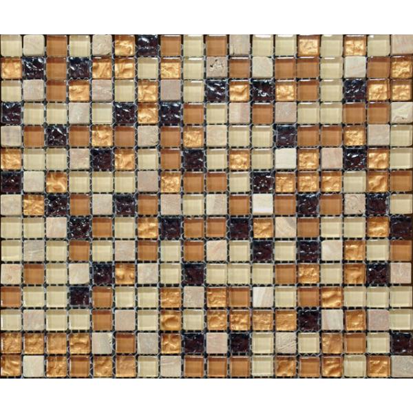 Glass and Stone Mosaic MMX007