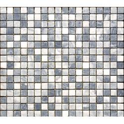 Mozaic gri din marmura MST002