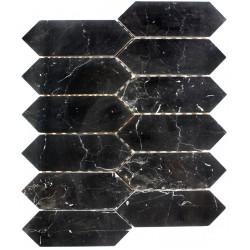 Mozaic din Marmura neagra MST031