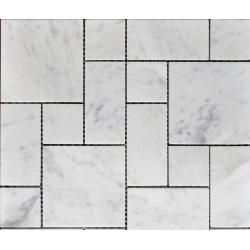 Mozaic din Piatra alb gri S016