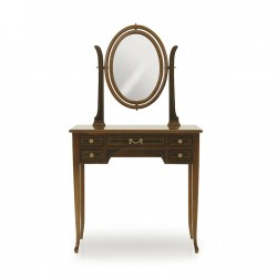 Birou din lemn cu oglinda Adone