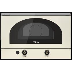 Cuptor cu microunde incorporabil Teka MWR 22 BI vanilla si alama