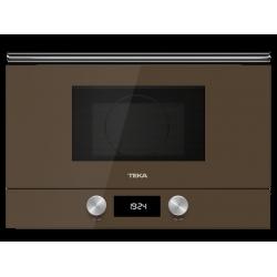 Cuptor incorporabil microunde + grill Teka ML 8220 BIS L LB maro