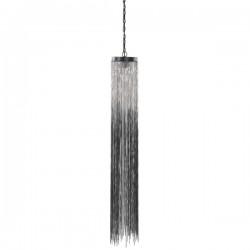 Suspensie moderna Rain Chain crom Ø18 cm