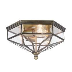 Plafoniera clasica Zeil bronz 30x35 cm