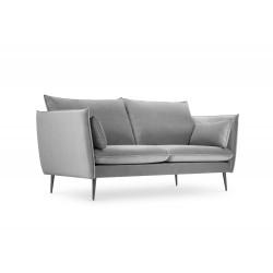 Canapea cu tapiterie din catifea Agate, 2 locuri