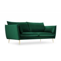 Canapea cu tapiterie din catifea Agate, 3 locuri