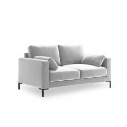 Canapea cu tapiterie din catifea Jade, 2 locuri