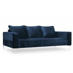 Canapea cu tapiterie din catifea Jardanite