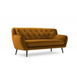 Canapea cu tapiterie din catifea Mica, 2 locuri