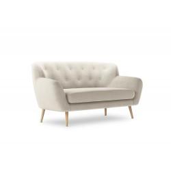 Canapea cu tapiterie textila Mica, 2 locuri