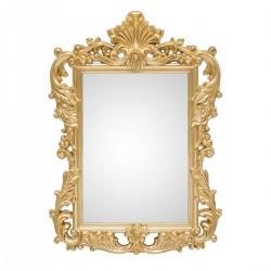 Oglinda de perete clasica cu rama aurie Royal