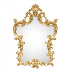 Oglinda de perete cu rama aurie Cinder