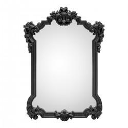 Oglinda de perete cu rama neagra King