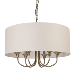 Lustra Abu Dhabi alama si alb Ø60 cm