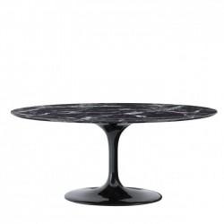 Masa Solo aspect marmura neagra 170×110 cm