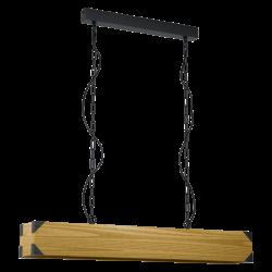 Suspensie Harborough lemn L 90 cm