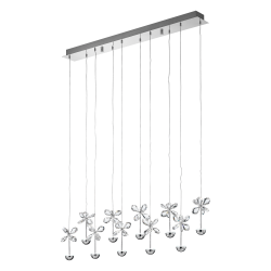 Lustra Pianopoli cristal L 87 cm