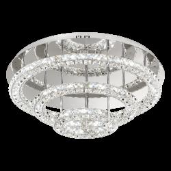 Plafoniera Toneria cristale Ø75 cm