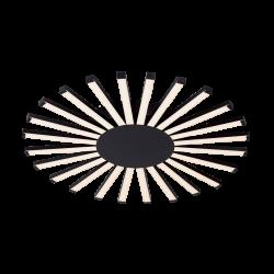 Plafoniera Josey negru Ø57,5 cm