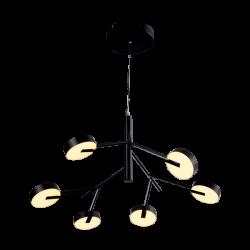 Lustra Senso negru L 69,6 cm