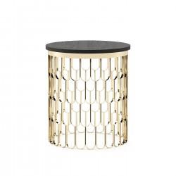 Masuta rotunda cadru metalic Brenda Ø48 cm
