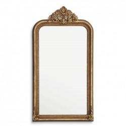 Oglinda clasica cu rama auriu antichizat Boulogne