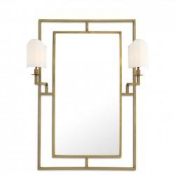 Oglinda de perete cu 2 lampi Astaire