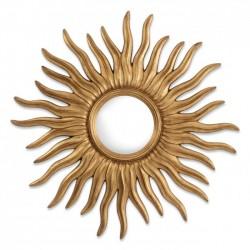 Oglinda de perete cu rama auriu antichizat Medina