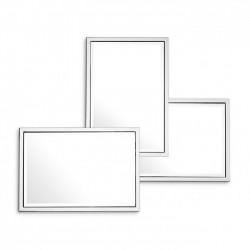Oglinda decorativa cu rama metalica Sensation 2