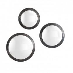 Set 3 oglinzi rotunde decorative Gladstone