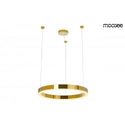 Lustra moderna Ring LUXURY LED auriu Ø70 cm