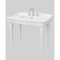 Lavoar Hermitage consola 4 picioare 112×63 cm