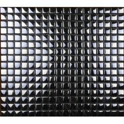 Mozaic sticla metalic argintiu sah GL012