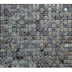 Mozaic Sticla si Marmura Gri MMX011
