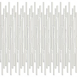 Mozaic sticla alb baghete GL030